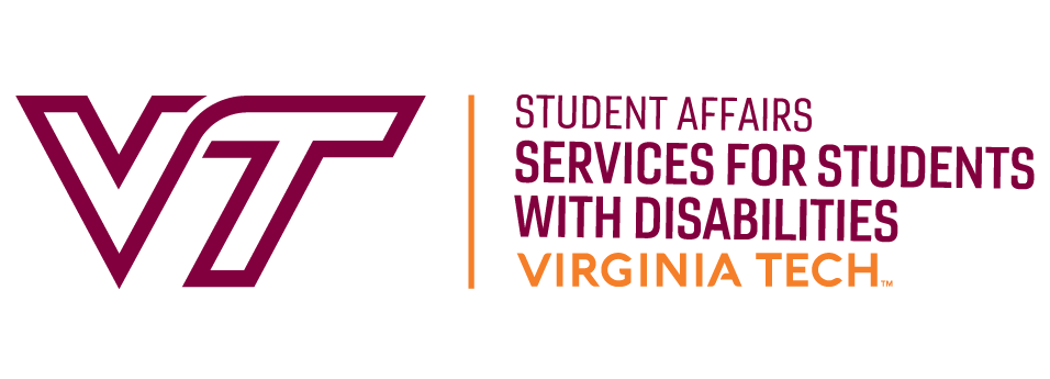 Serveices for Students with Disabilities at Virginia Tech logo